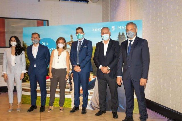 Madrid y Renfe lanzarán una campaña conjunta para incentivar el turismo nacional este verano