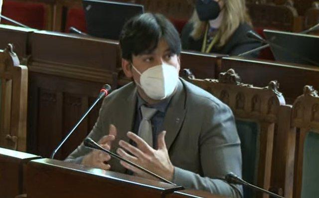 Archivo - El consejero de Ciencia, Innovación y Universidad, Borja Sánchez