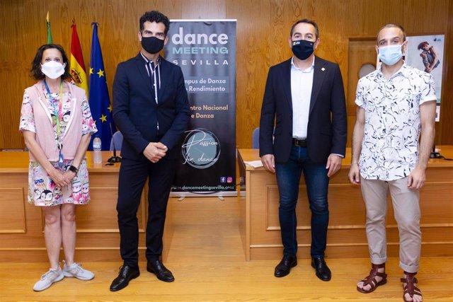 Presentación del Dance Meeting Sevilla