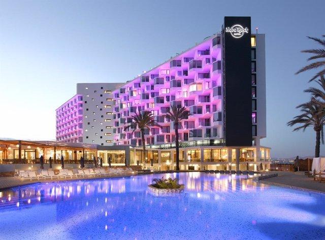 Archivo - Hard Rock Hotel de Ibiza.