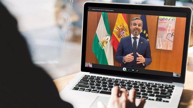 Juan Bravo apuesta por impulsar la relación con Portugal para acelerar la recuperación económica de Andalucía