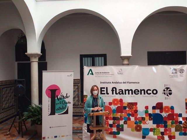 Instituto Andaluz del Flamenco acoge la presentación del Festival 'Verde que te quiero  Verde' que se celebra en Andorra