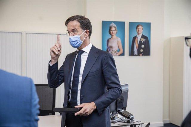 El primer ministro holandés, Mark Rutte