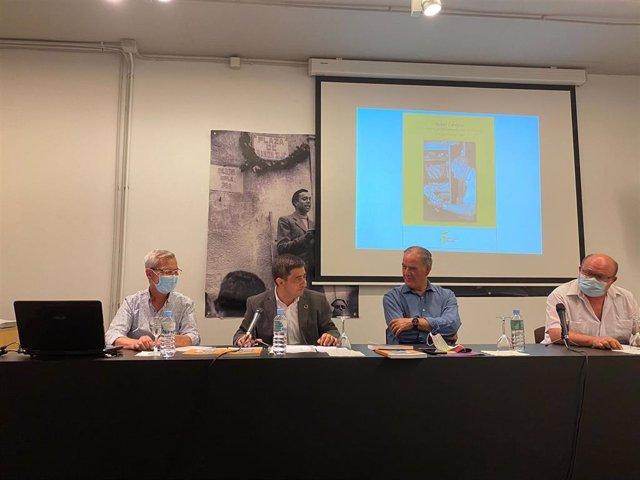Francisco Reyes participa en Quesada (Jaén) en la presentación de un libro sobre el pintor Rafael Zabaleta