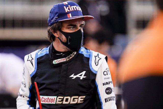 Archivo - Fernando Alonso (Alpine)