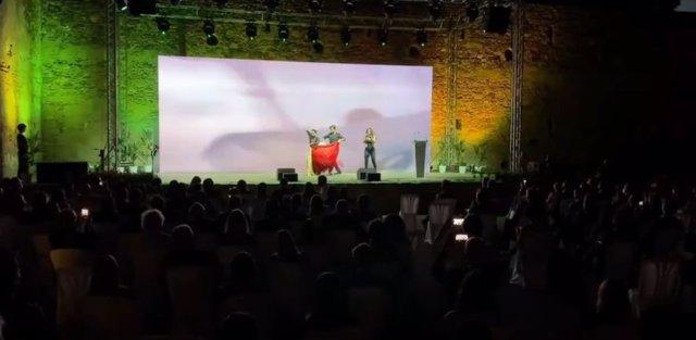 Momento de la gala de presentación de la nueva campaña de Turismo Andaluz