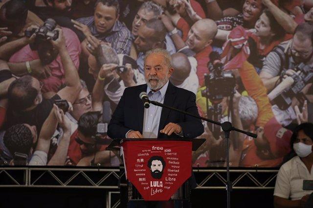 Archivo - El expresidente de Brasil Lula da Silva