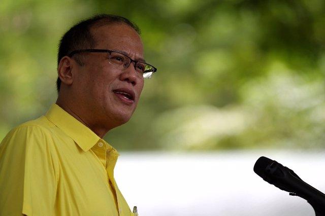 Archivo - El presidente de Filipinas, Benigno Aquino