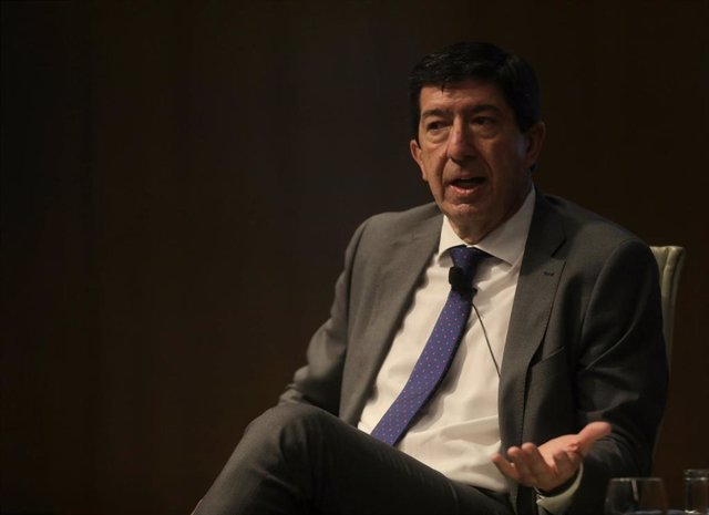 El vicepresidente de la Junta y consejero de Turismo, Regeneración, Justicia y Administración Local, Juan Marín