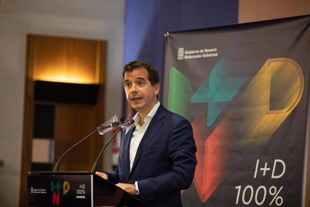 El consejero de Desarrollo Económico y Empresarial del Gobierno de Navarra, Mikel Irujo.