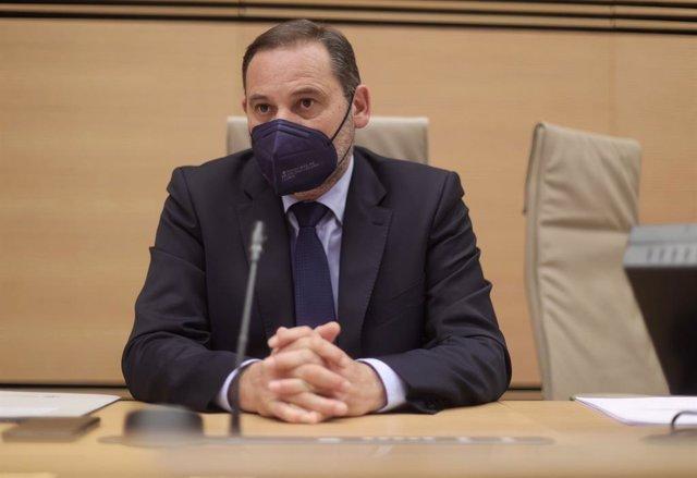 Arxiu - El ministre de Transports, Mobilitat i Agenda Urbana, José Luis Ábalos