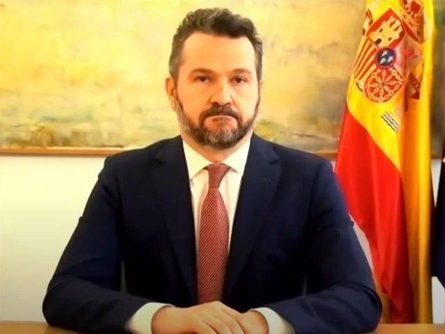 Archivo - El presidente de la Comisión Nacional del Mercado de Valores (CNMV), Rodrigo Buenaventura, en la conferencia 'MiFID II, tres años después'.