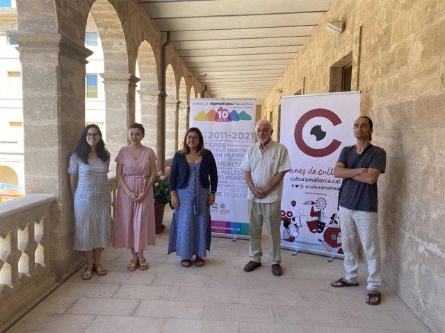 La consellera de Cultura, Bel Busquets, presenta la octava edición de las 'Nits Clàssiques de Tramuntana'