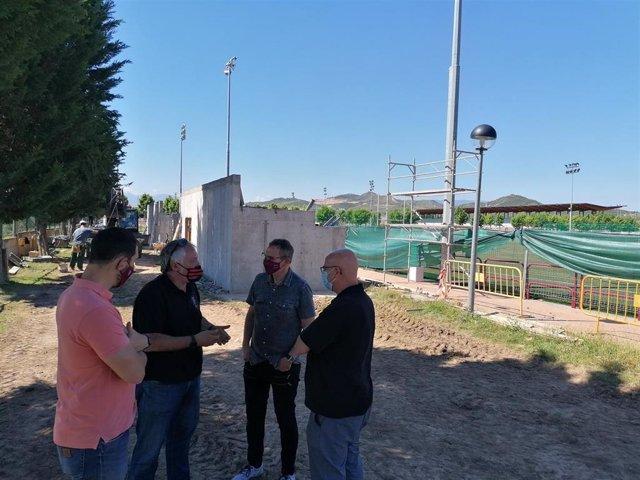 Pradoviejo contará en la próxima temporada  con una nueva grada cubierta para 154 espectadores