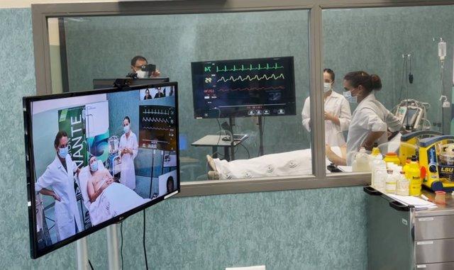 Salud avanza en la simulación virtual a través de la interacción remota de profesionales en escenarios realistas