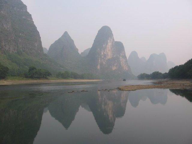 Paisaje representativo de la provincia de Guangxi