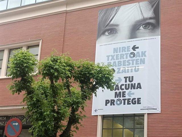 Archivo - Imagen de Osakidetza en un centro de Bilbao para fomentar la vacunación