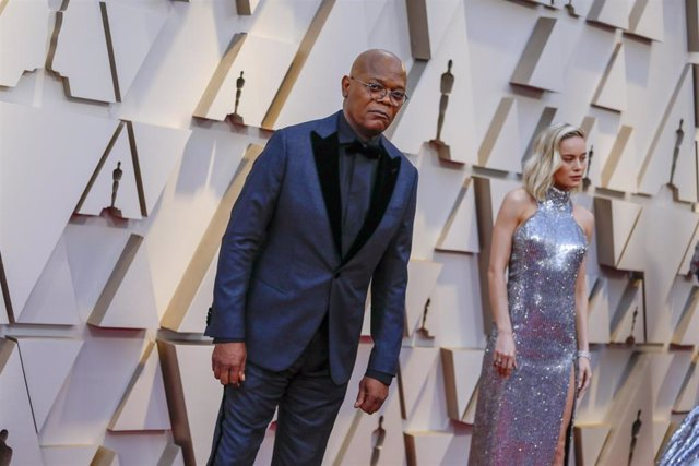 Archivo - HOLLYWOOD, CA – February 24, 2019 Samuel L. Jackson and Brie Larson during the arrivals at the 91st Academy Awards on Sunday, February 24, 2019 at the Dolby Theatre at Hollywood & Highland Center in Hollywood, CA. (Jay L. Clendenin / Los Angele
