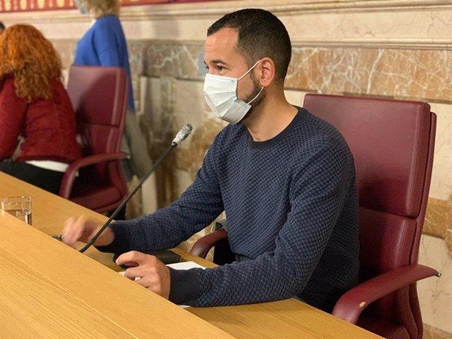 Archivo - Daniel González Rojas, portavoz adjunto de Adelante, en una imagen de archivo