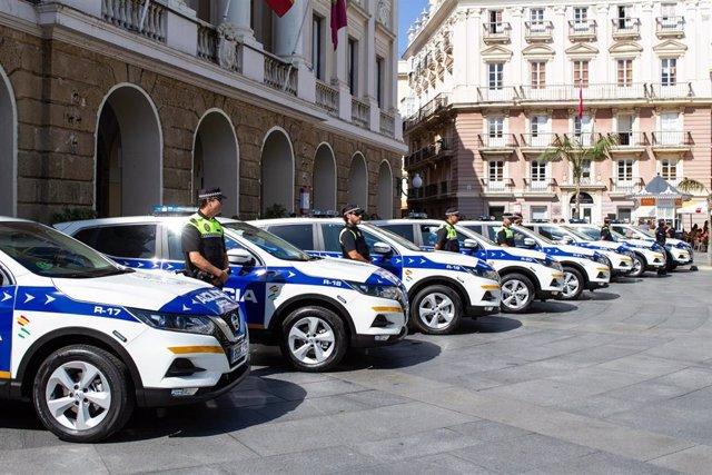 Policía Local de Cádiz.