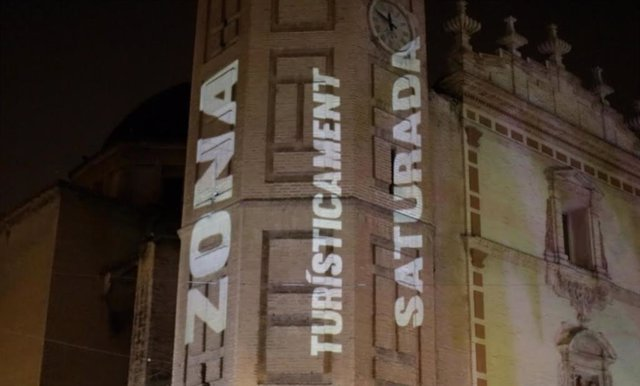 Archivo - Arxiu - Acció reivindicativa per a reclamar la ZAS en Russafa