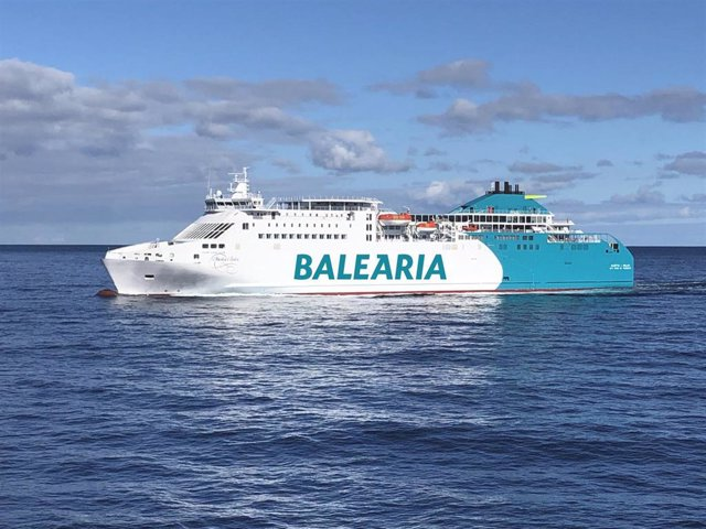 Archivo - Ferry de Baleària.
