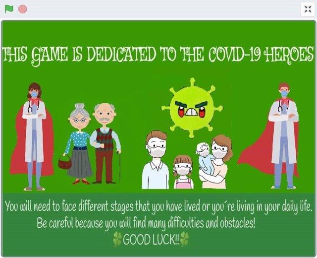 Más de 400 niños participan en un reto para crear un videojuego de aventuras sobre los 'Héroes sin capa' de la Covid-19