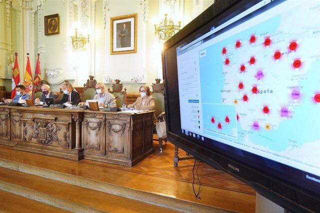 Presentación del Diagnóstico sobre la Salud de Valladolid en el Ayuntamiento.