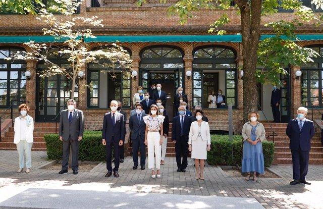 La Reina preside la reunión del Patronato de la Residencia de Estudiantes, uno de los centros culturales más relevantes de España