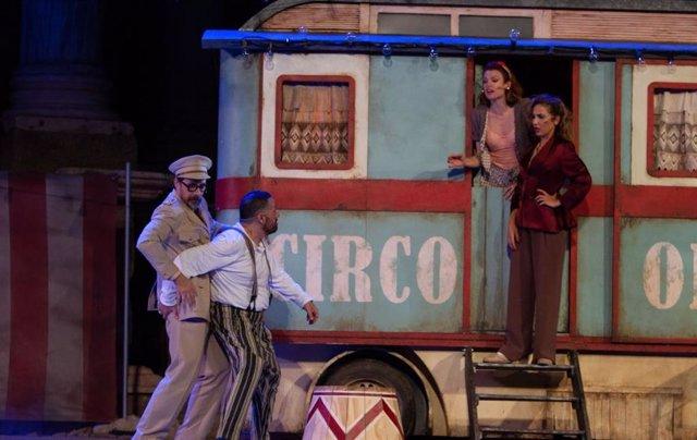 El Brujo y 'Anfitrión' despiden el Festival de Teatro Clásico de Cáceres con las entradas agotadas