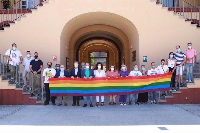 La Diputación celebra el día del Orgullo LGTBI