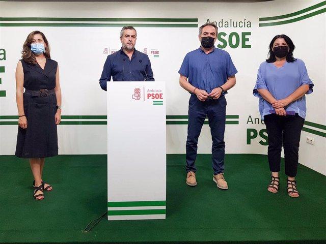 Lorenzo (PSOE), en rueda de prensa