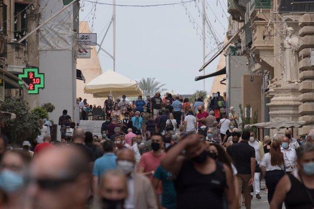 Calle de Malta durante la pandemia del coronavirus