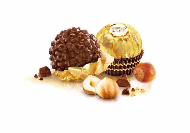 Archivo - Bombones de Ferrero Rocher