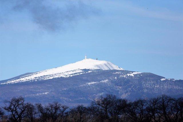 Archivo - Imagen del Mont Ventoux
