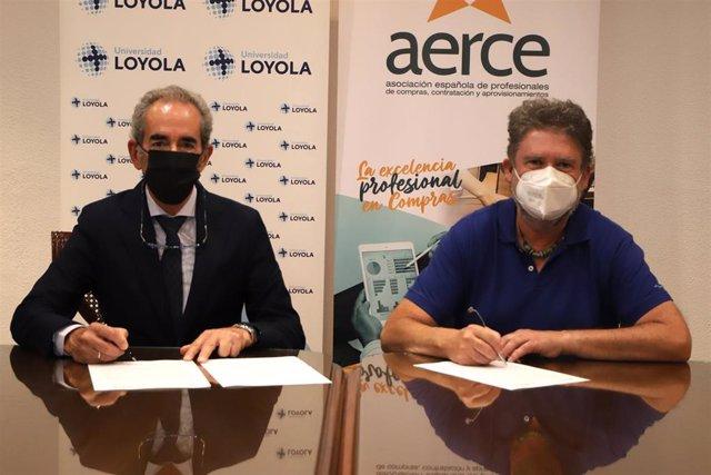 Archivo - La Universidad Loyola y Aerce firman un convenio de colaboración