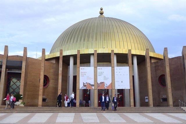 Archivo - El Palacio de Exposiciones y Congresos de Sevilla (Fibes), en una imagen de archivo