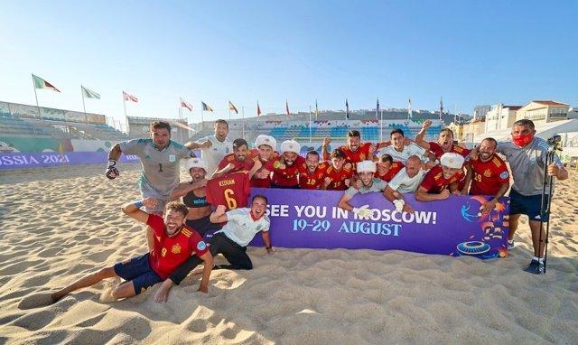 España se clasifica para el Mundial de fútbol playa con una épica remontada a Italia