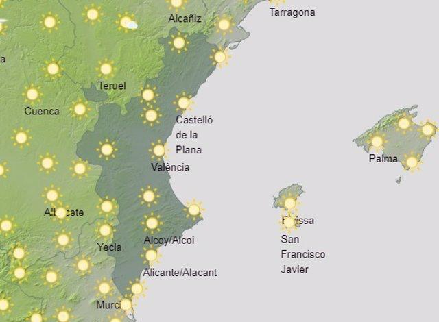 Predicción del tiempo para este sábado 26 de junio