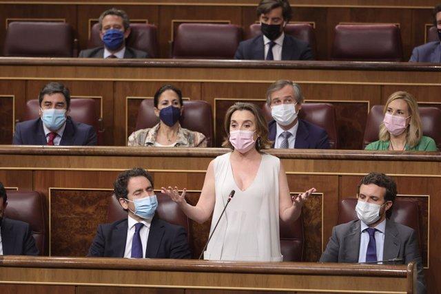 La portaveu del PP al Congrés dels Diputats, Cuca Gamarra