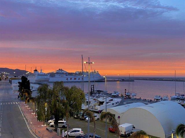 Puerto de Motril.