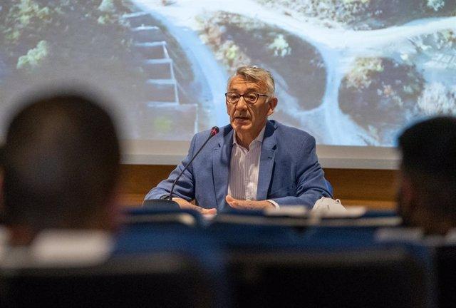 El vicepresidente de Innovación Económica y Social de la Diputación de Huelva, Juan Antonio García.