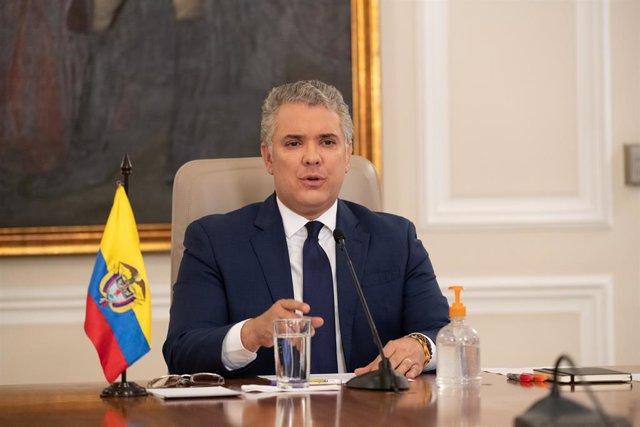 Archivo - Arxivo - El president de Colòmbia, Iván Duc