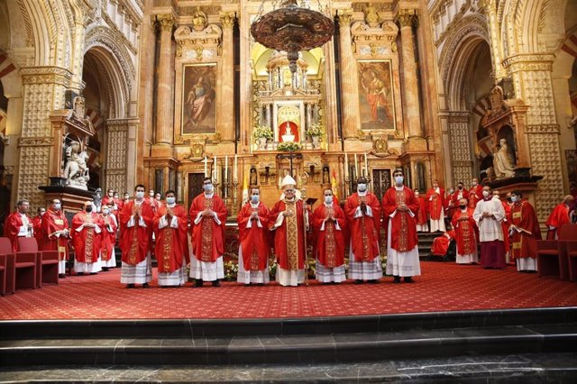 Ordenación de los nuevos sacerdotes
