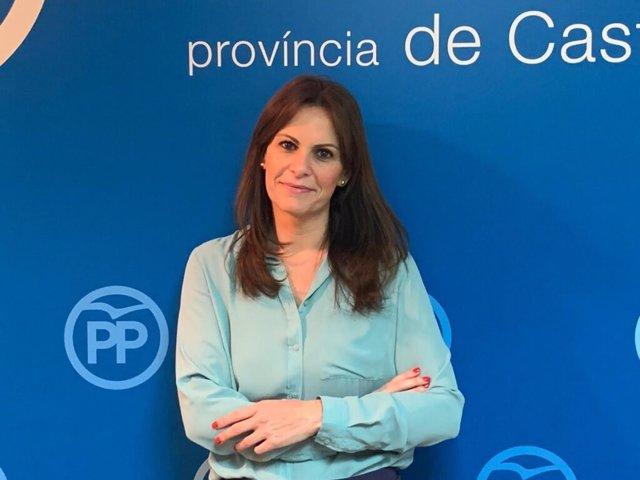La portavoz de Educación del PPCV, Beatriz Gascó.
