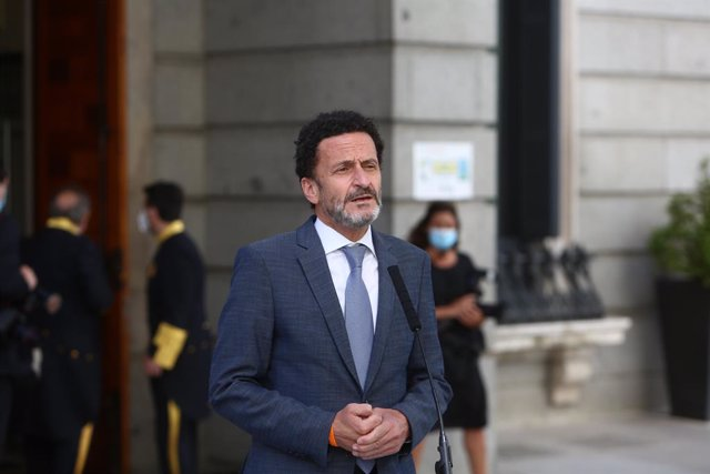 El candidat de Ciutadans a la Presidència de la Comunitat de Madrid, Edmundo Bal