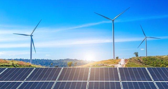 Energías renovables que dan soporte a la red 5G.