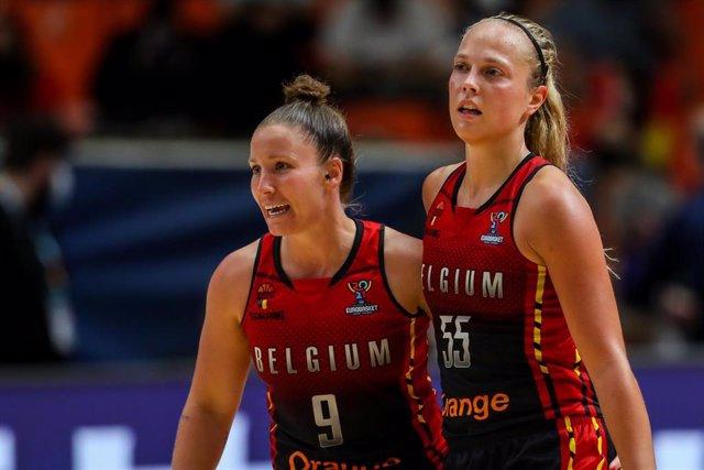 Carpreaux y Allemand con la selección belga