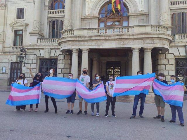 El grupo trans del colectivo Lambda
