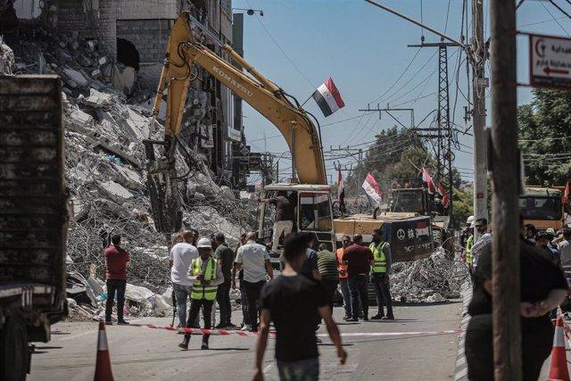 Reconstrucción de Gaza después de los enfrentamientos entre Hamás e Israel